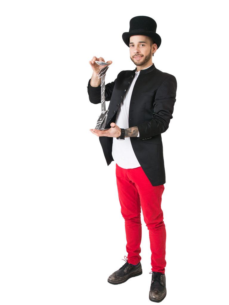 Burvju mākslinieks - Iluzionists Robijs Trankalis - Uzzini trika noslēpumus